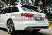 For A6 C7 4g 11-18 Avant + Allroad Roof High Kick Wing Wing Rs6 Style