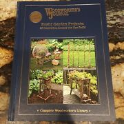 Woodworkers Journal Rustic Garden Projects 28 Decorative Accents 2006 Hardcover