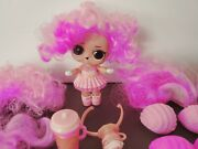 Lol Surprise Hairvibes Darling Pink Hair Vibes Dolls L.o.l.