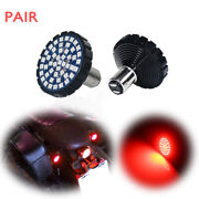 1157 Red 48-smd Led Turn Signals Tail Lights Bulbs For Harley Street/road Glide