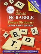 The Official Scrabble Players Dictionary 5th Edition Large Print Trade Papandhellip