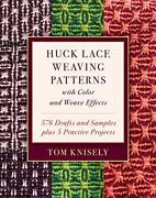 Huck Lace Weaving Patterns With Color And Weave Effects 576 Drafts And Samplandhellip