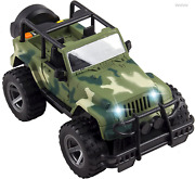 Military Army Fighter Car Toy Vehicle Off-road Lights Sounds Gift Kids Boys Girl