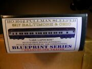 Branchline Trains Ho Scale Baltimore And Ohio Hwt 10-1-2 Sleeper