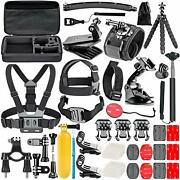 Navitech 50-in-1 Accessory Kit For Veho Muvi Kx-2 Pro Action Cam New