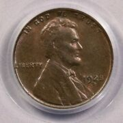 1925-d 1925 Lincoln Head Cent Pcgs Old Green Holder Ogh Ms64 Rb Flashy Original