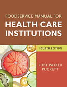 Puckett Ruby Parker/ Norton...-foodservice Manual For Healt Uk Import Book New