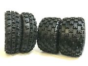4 New Atv Tires At 23x7-10 Front And 22x10-10 Rear 6pr- Gncc Race Style Heavy Duty