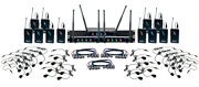 Vocopro Digital-play-12 Twelve Channel Uhf Wireless Headset And Lapel Mic System