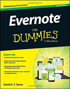 Sarna, David E. Y.-evernote For Dummies Uk Import Book New