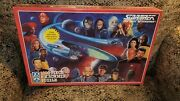 Star Trek 1000 Piece F.x. Schmid Puzzle Sealed In Box 1993 With Crew And Alien