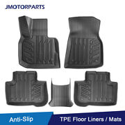 Kit Tpe Rubber Floor Mats Liners For 2018-21 Bmw X3 2019-21 Bmw X4 All Weather