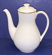 Exquisite Royal Doulton English Fine Bone China Alice H5122 Coffeepot And Lid