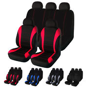Universal Auto Seat Covers For Car Truck Suv Van 5 Seater Front Rear Protector