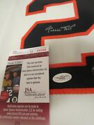 Willie Mays Signed Giants Jersey, Jsa, Beauitful Signature Double Certification