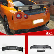 For Nissan Gtr R35 Nsm Style Frp Unpainted Rear Trunk Diffuser Gt Spoiler Wing