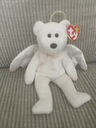 Rare Ty Beanie Baby - Halo 1998 With Rare Brown Nose - Retired Tag Still On