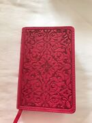 2007 Holy Bible English Standard Version Esv Crossway Berry Pink Cover