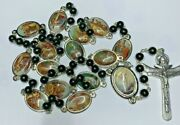 † Modern Way Of The Cross Stations Colorful Rosary Chaplet 33 64.31 Grs †
