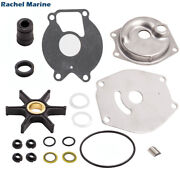 Outboard Engine Water Pump Impeller Kit For Mercury 9.9 15 20 25hp 46-99157t2