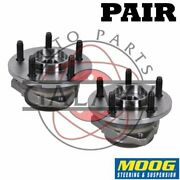 Moog New Replacement Front Wheel Hub Bearings Pair For Jeep Liberty 2002-05