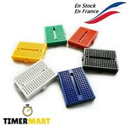 Mini Breadboard Of 170 Points Plate Test For Arduino Timermart