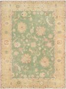 Vintage Hand-knotted Carpet 9and0393 X 12and0393 Traditional Oriental Wool Area Rug
