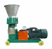 220v High Quality 2/3/5/6/8mm Chicken Feed Pellet Mill Machine Fast Shipping New