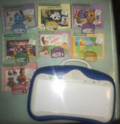 Leapfrog Little Touch Leap Pad Learning System Lot 7 Books And Cartridges