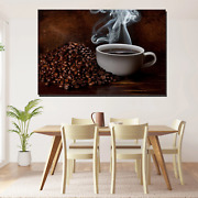 Aroma Of Coffee Cafe And Coffee Canvas Art Print For Wall Decor