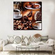 Espresso Collage Cafe And Coffee Canvas Art Print For Wall Decor