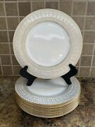 Lenox Marchesa Gilded Pearl Salad Plate Set Of 7 New See Description