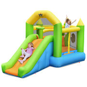 Costway Inflatable Bounce House Slide Bouncer Ball Pit Basketball Dart Game