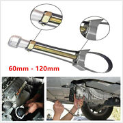 Adjustable Car Truck Oil Filter Removal Repair Hand Tool Strap Wrench 60mm-120mm