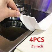 25and039and039 Kitchen Silicone Gap Stove Counter Cover Oven Guard Spill Seal Slit Filler