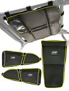 Prp Polaris Rzr Xp1000 S900 Storage Package - Roof, Door And Center Bags, Lime