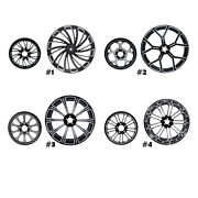18and039and039 X 5.5and039and039 Rear Wheel Rim W/ Hub Belt Pulley Sprocket For Harley Touring 08-21