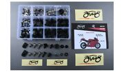 Specific Hardware Complete Fairing Bolts Screws Kit Silver Ducati 999 2003-2006