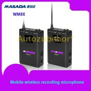 Mobile Wireless Recording Microphone For Live Broadcasting Recording Interview