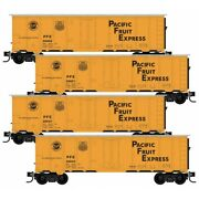 N Scale Micro Trains Pacific Fruit Express 4 Car Runner Pack Item 99300175