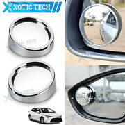 For Toyota Camry 2 360anddeg Blind Spot Rear View Mirrors Wide Angle Convex Rearview