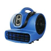 Xpower X-800tf 3/4 Hp 3200 Cfm 3 Speed Air Mover Floor Fan Dryer Blower With