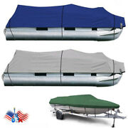 New 600d Oxford Fabric High Quality Waterproof Boat Cover With Storage Bag Usa