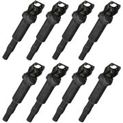 Set-bs0221504470-8 Bosch Set Of 8 Ignition Coils New For 323 325 328 330 525 528