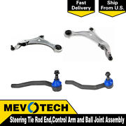 Mevotech 4 Front Tie Rod End Control Arm Ball Joint For 2011-2017 Nissan Quest
