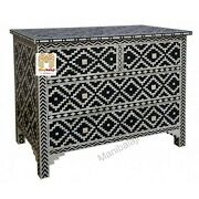 Bone Inlay Chest Of Drawers Four Drawer Inlay Dresser Home Dandeacutecor With Insurance