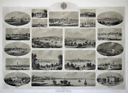 Schleswig Views From The Duchy Of Original Lithography Loeillot 1860