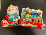 Cocomelon Set Of 2 - Musical Dr Checkup Set And Musical Bedtime Jj Doll