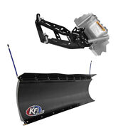 Kfi Pro Poly 72 Snow Plow Push Tubes And Mount For 2014-2016 Gravely Atlas Jsv