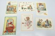 6 Assorted Vera The Mouse Hallmark Greeting Cards And Envelopes 1997 3